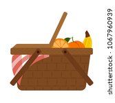 abstract picnic object | Shutterstock .eps vector #1067960939
