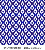 seamless thai pattern  abstract ... | Shutterstock .eps vector #1067965130