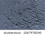 dark blue  grey wall  close up... | Shutterstock . vector #1067978240