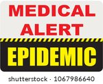 special symbol  sign medical... | Shutterstock .eps vector #1067986640