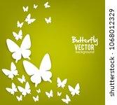 beautiful summer background... | Shutterstock .eps vector #1068012329