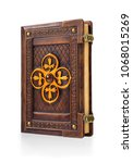 Vintage Leather Bound Book Wit...