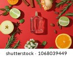 beautiful composition with... | Shutterstock . vector #1068039449