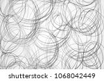 contrasting gray pencil drawing ... | Shutterstock . vector #1068042449