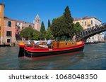 canal grande  grand near ponte... | Shutterstock . vector #1068048350