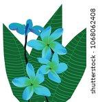 vector illustration of blue... | Shutterstock .eps vector #1068062408