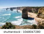 austalia east coast | Shutterstock . vector #1068067280