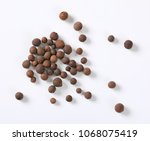 handful of whole allspice... | Shutterstock . vector #1068075419
