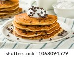homemade chocolate chip... | Shutterstock . vector #1068094529