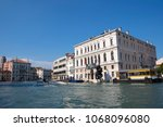 grand venice  italy  may 13th... | Shutterstock . vector #1068096080