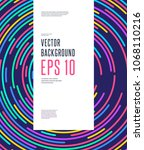 abstract minimal vector...   Shutterstock .eps vector #1068110216