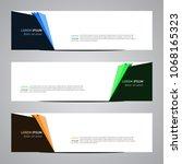 modern banner vector for your... | Shutterstock .eps vector #1068165323