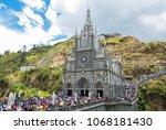ipiales colombia march 2018... | Shutterstock . vector #1068181430