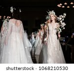 new york  ny  usa   april 12 ... | Shutterstock . vector #1068210530