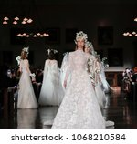 new york  ny  usa   april 12 ... | Shutterstock . vector #1068210584