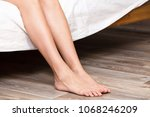 closeup shot of beautiful naked ... | Shutterstock . vector #1068246209