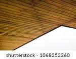 wooden ceiling  thailand.   Shutterstock . vector #1068252260