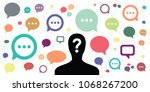 vector illustration of person... | Shutterstock .eps vector #1068267200