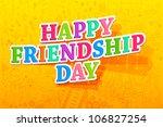 illustration of happy... | Shutterstock .eps vector #106827254