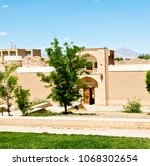 in iran antique palace and ... | Shutterstock . vector #1068302654