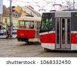 prague  czech republic  april... | Shutterstock . vector #1068332450