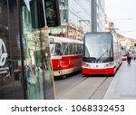 prague  czech republic  april... | Shutterstock . vector #1068332453