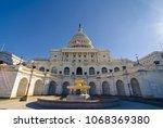 washington d.c.   usa  ... | Shutterstock . vector #1068369380