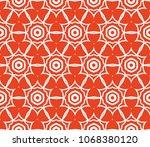 art deco pattern. seamless...   Shutterstock .eps vector #1068380120