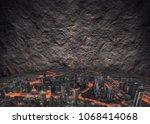 fine art composite of self... | Shutterstock . vector #1068414068