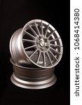 brand new vehicle rims made... | Shutterstock . vector #1068414380