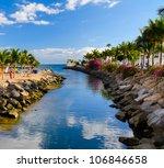 View Of Puerto De Mogan Bay ...