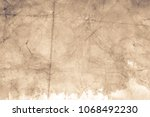 blank aged paper sheet as old... | Shutterstock . vector #1068492230