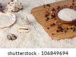 sea salt on the beach and on... | Shutterstock . vector #106849694
