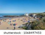 botany bay  kent  united... | Shutterstock . vector #1068497453