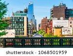 manhattan  new york city   june ... | Shutterstock . vector #1068501959