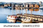 scene view of the ships and... | Shutterstock . vector #1068511553