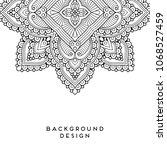 vector mandala background   Shutterstock .eps vector #1068527459