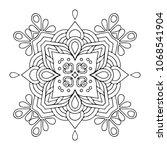 vector arabesque ornament | Shutterstock .eps vector #1068541904