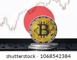bitcoin  btc  cryptocurrency ... | Shutterstock . vector #1068542384