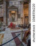 pantheon basilica  rome  italy...   Shutterstock . vector #1068556220
