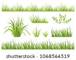 Green Grass Seamless Pattern....