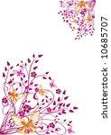 floral background   Shutterstock .eps vector #10685707