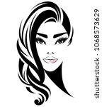 illustration of women short... | Shutterstock .eps vector #1068573629