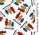 koinobori seamless doodle... | Shutterstock .eps vector #1068575714