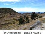 terrace fields   cultivation on ... | Shutterstock . vector #1068576353