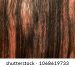 textured wood surface of ebony... | Shutterstock . vector #1068619733