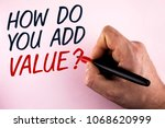word writing text how do you... | Shutterstock . vector #1068620999