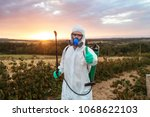 agriculture pest control  ... | Shutterstock . vector #1068622103