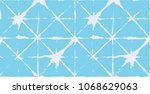 geo pattern  japanese kimono... | Shutterstock .eps vector #1068629063