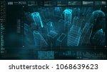 advance motion graphic... | Shutterstock . vector #1068639623